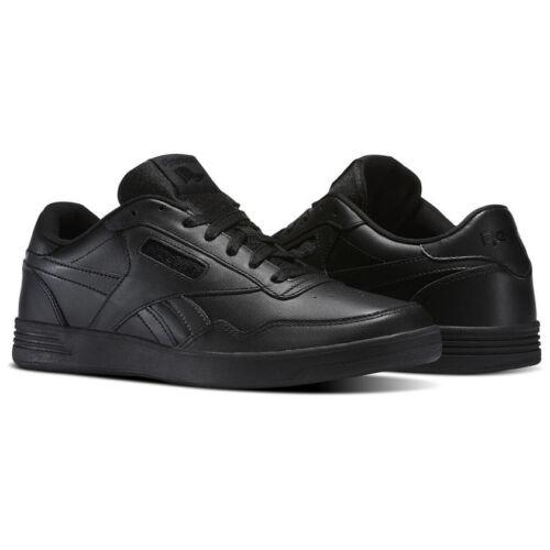 Reebok Royal Techque T LX Men/'s Shoes Sneakers Leather Black BS9093