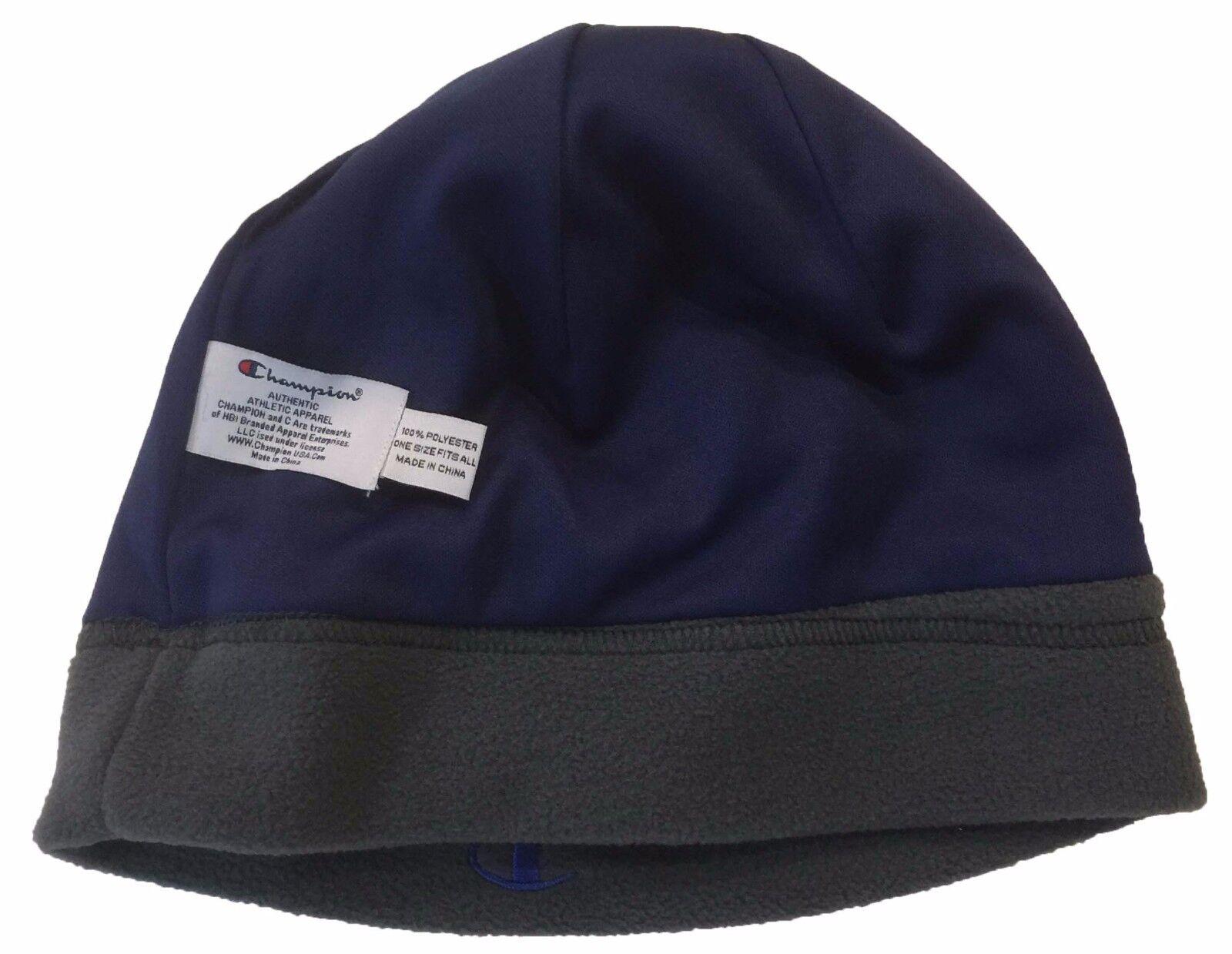 WHOLESALE LOT 2 Name PCS Brand Name 2 Champion Mens Beanie Ski Snowboard Fleece Hat Cap cf9679