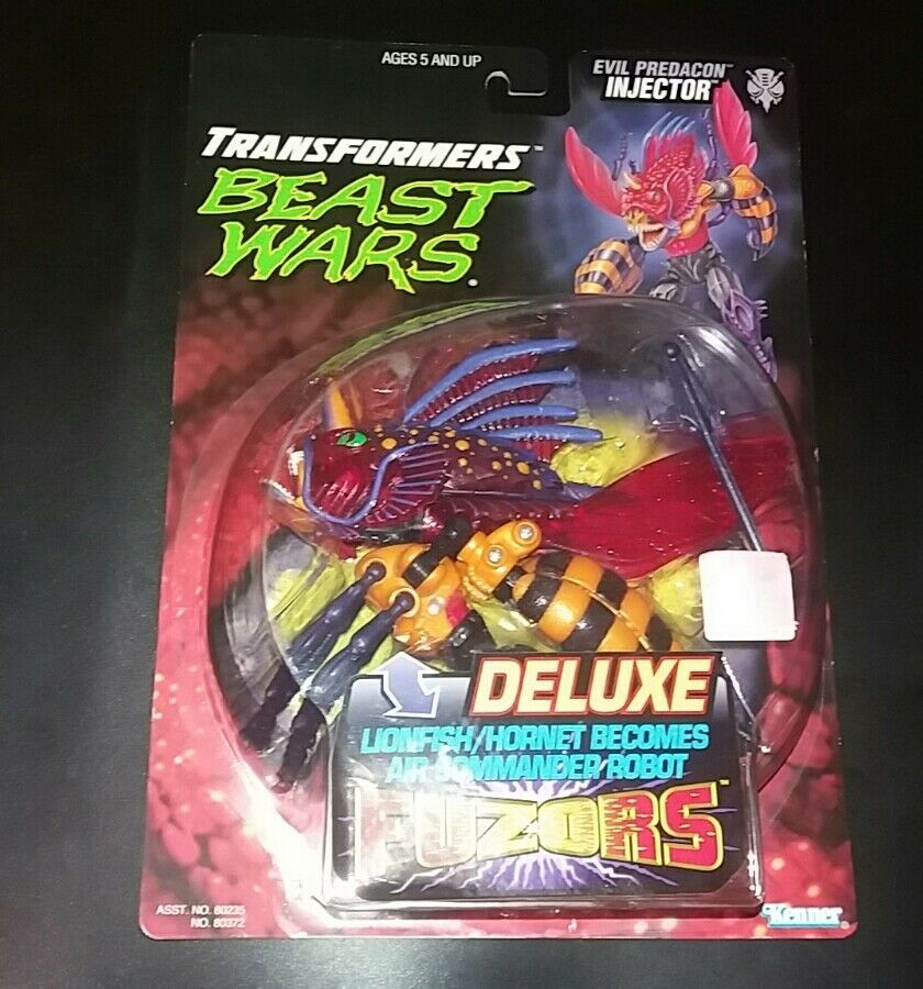 TRANSFORMERS EVIL ProtACON INJECTOR DELUXE.KENNER.