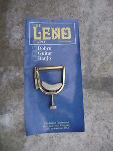 Aimable Leno Banjo Capo-afficher Le Titre D'origine