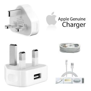 apple iphone 5c charger genuine apple iphone 6 6s plus 5 5c 5s mains wall charger 2844