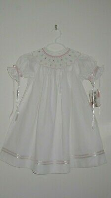 Girl smocked Bishop LOLLIPOPS SUCKER 3T dress NEW NWT Vive La Fete Spring Easter