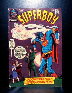 COMICS-DC-Superboy-175-1971-RARE-figure-vintage-superman-legion