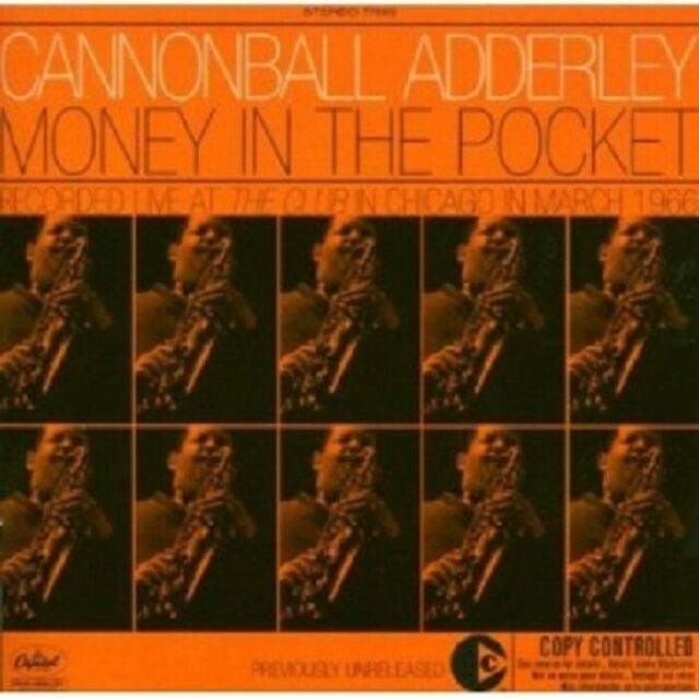CANNONBALL ADDERLEY - MONEY IN THE POCKET  CD 9 TRACKS SWING / MODERN JAZZ NEU
