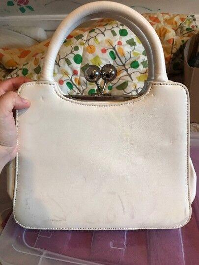 Vintage White Mermaid Purse, shell purse, shell m… - image 6