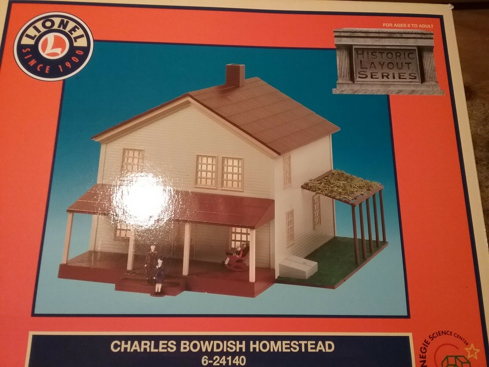 LIONEL 6-24140 CHARLES BOWDISH HOMESTEAD  HISTORIC LAYOUT SERIES    LN IN OB