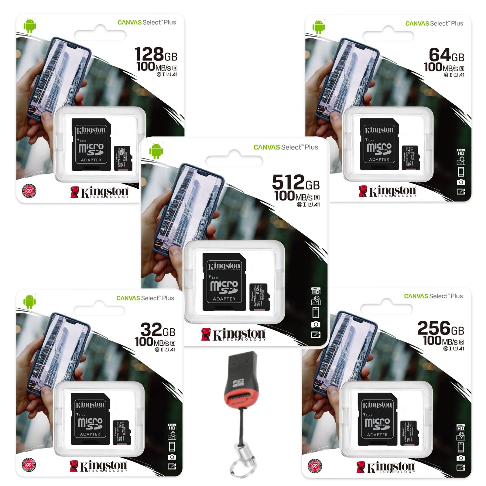 Memory Card Micro SD SDXC Kingston For Samsung Galaxy S10, S10 Lite,S10e