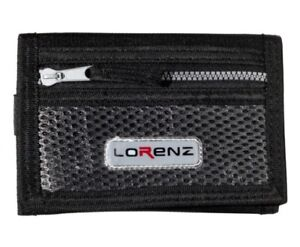 Mens Lorenz valcro trifold rippa sports wallet with belt HOOK in THREE COLOURS