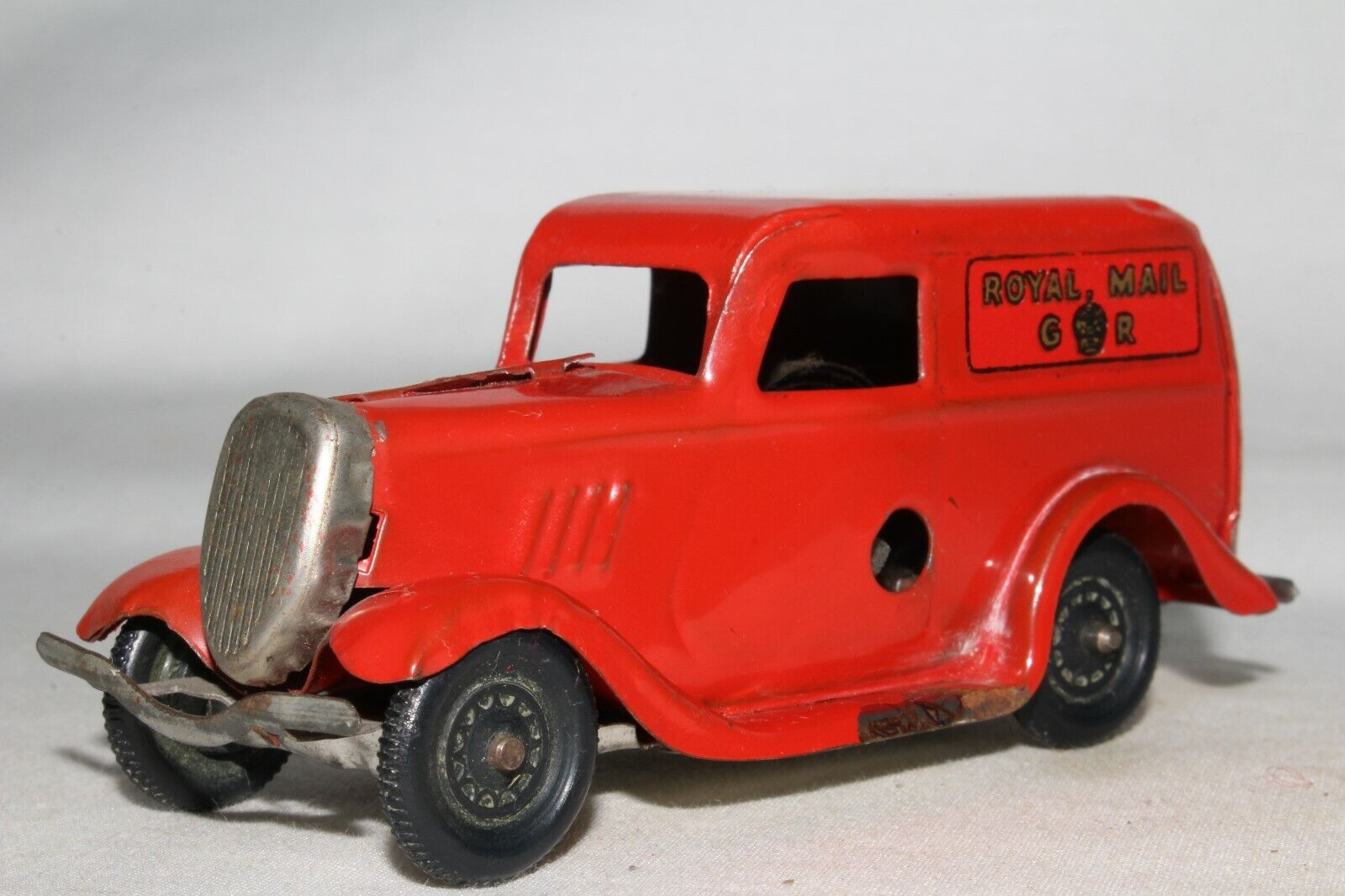 Triang Minic 591ms Ford Hell Lieferung Lastwagen, Royal Mail, Original