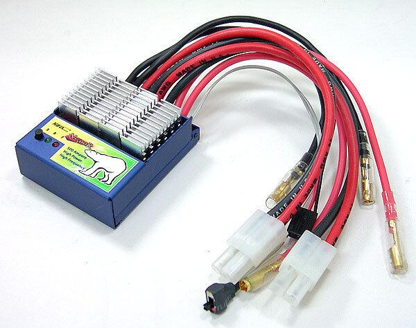 Dualmotor 8.4  8.4 V Esc Speed Control Fi T E-maxx clodbuster Futaba Receptor