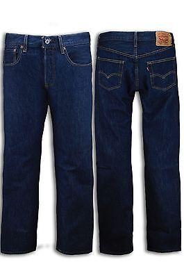 NEW Men Levis 501 Straight Leg Jeans Button Fly 0115 Prewashed Blue 32X32