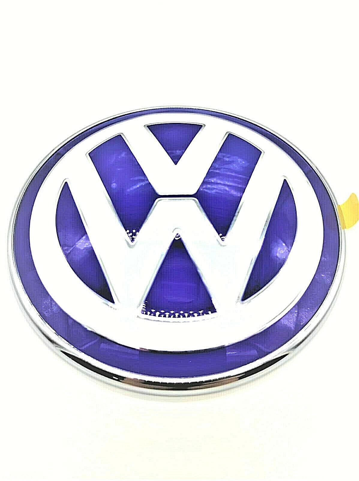 Volkswagen 000087000T Spilla con Logo VW Argento//Nero