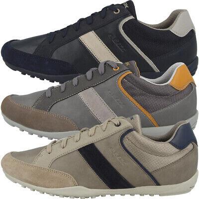 GEOX U Garlan B Schuhe Men Herren Sneaker Halbschuhe Schnürschuhe U023GB05422C   eBay