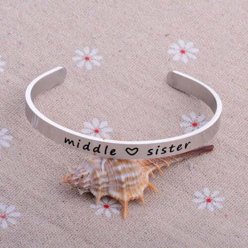 Stainless Steel Bangle Bracelet Open Cuff Bangle Women Men Jewelry Gift Friends