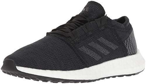 adidas Originals B75665 Womens Pureboost Go Running Shoe, Black/Grey/Grey, 11 M