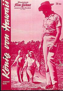 """IFB Illustrierte Film Bühne Nr. 6553 """" König von Hawaii """""""
