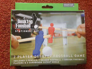 Desktop Foosball Stationery Set with 2 pencils 1 eraser ball 2  players ampgoals - Stirling, United Kingdom - Desktop Foosball Stationery Set with 2 pencils 1 eraser ball 2  players ampgoals - Stirling, United Kingdom