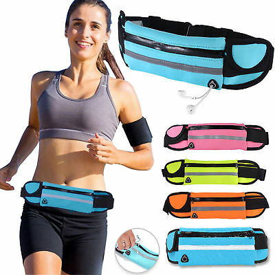 Leale Unisex Waist Belt Bum Bag Jogging Running Travel Pouch Keys Sports Mobile Cash Il Consumo Regolare Di Tè Migliora La Salute