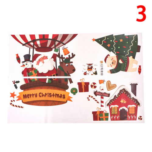 Bauble Window Stickers Clings Reusable Christmas Decorations Quick Simple Decal√