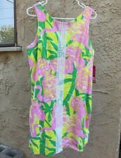 c54ae6f2037 item 3 NWT Lilly Pulitzer for Target Pink Flamingo Fan Dance Shift Dress  SIZE 14 -NWT Lilly Pulitzer for Target Pink Flamingo Fan Dance Shift Dress  SIZE 14