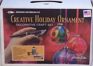 New-Badger-Air-Brush-Creative-Holiday-Ornament-Kit