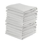 KAF Home Set of 12 Flour Sack White Kitchen Towels, 100-Percent Cotton