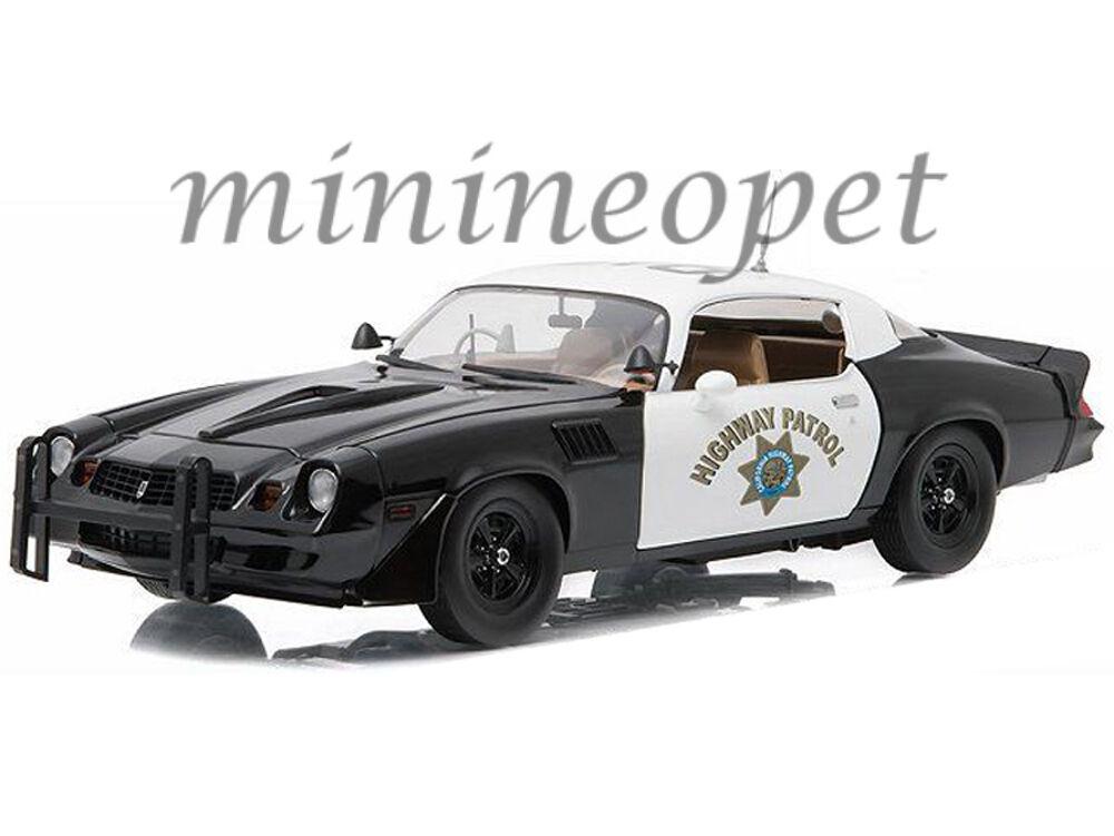 vendita con alto sconto verdeLIGHT 12964 1979 CHEVY CAMARO CAMARO CAMARO Z28 1 18 CHP CALIFORNIA HIGHWAY PATROL polizia  l'ultimo