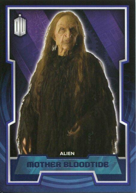 Doctor Who 2015 Base Card #84 Mother Bloodtide