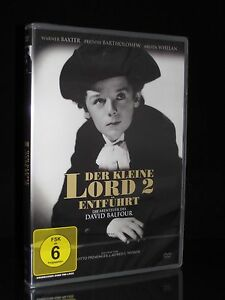 DVD ENTFÜHRT - DIE ABENTEUER DES DAVID BALFOUR (1938) - DER KLEINE LORD 2 * NEU