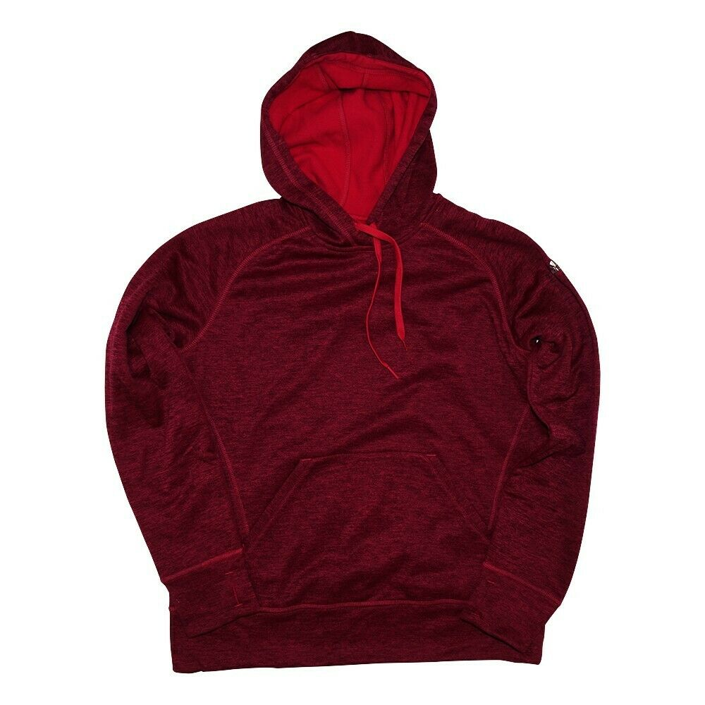 Adidas Women's Burgundy ClimaWarm Team Issue Tech Fleece Performance Hoodie