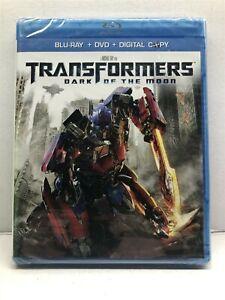 Transformers: Dark of the Moon (Blu-ray/DVD, 2011, 2-Disc Set) NEW - Free Ship