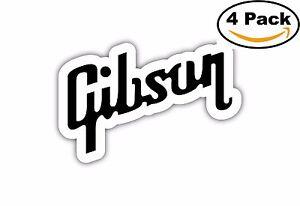 GIBSON-Guitar-Decal-Diecut-Sticker-4-Stickers