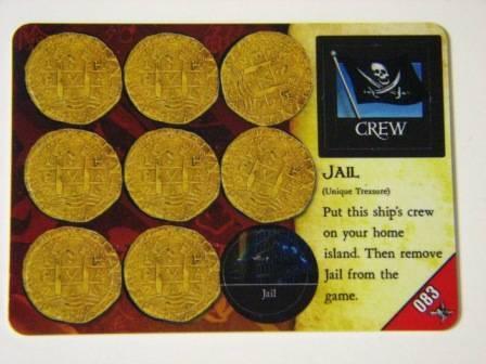 Pirates PocketModel Game 083 JAIL