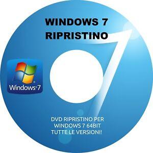 WINDOWS 7 32bit DISCO DI RIPRISTINO DVD RIPARA WINDOWS 7 32BIT 2 ANTIVIRUS!!!! - Italia - WINDOWS 7 32bit DISCO DI RIPRISTINO DVD RIPARA WINDOWS 7 32BIT 2 ANTIVIRUS!!!! - Italia