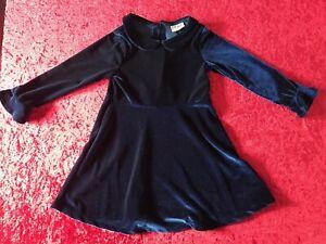 Kleid von Next / Weihnachten / festlich / blau/ langarm Gr ...