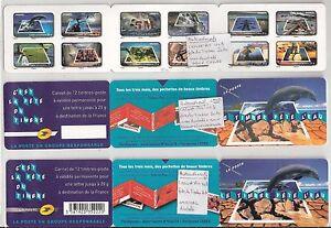 UNIQUE-3-carnets-BC403-034-fete-du-timbre2010-034-dont-1-ND-et-1-ND-noir-absent-CALV