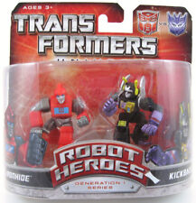 Transformers Universe Robot Heroes Ironhide Kickback Figures 2008 Hasbro MOC