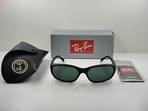 05e80a2652 RAY-BAN DADDY O II SUNGLASSES RB2016 W2578 BLACK FRAME GREEN CLASSIC ...