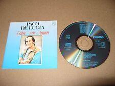 Paco de Lucía - Entre Dos Aguas (1994) cd 14 tracks