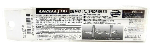 ZipBaits Orbit 80 SP SR 8cm 8,5g Suspending Jerkbait Made in Japan NEU 2019
