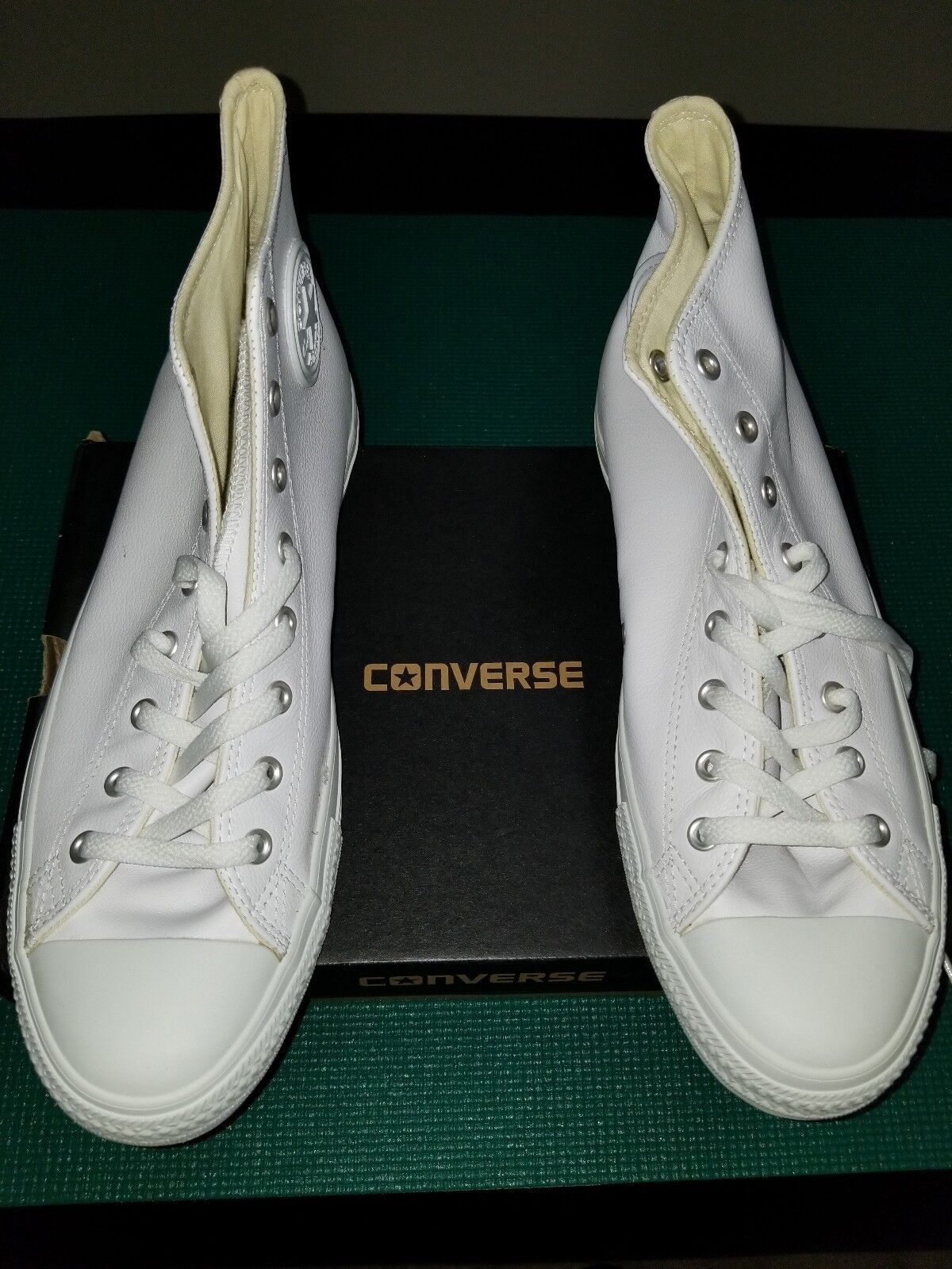 Converse Chuck Taylor All Star Leather High Top Sneaker Size 13