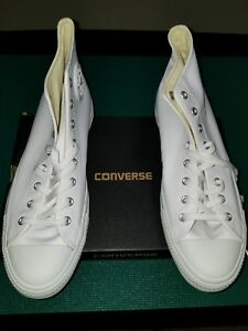 Star Leather High Top Sneaker Size