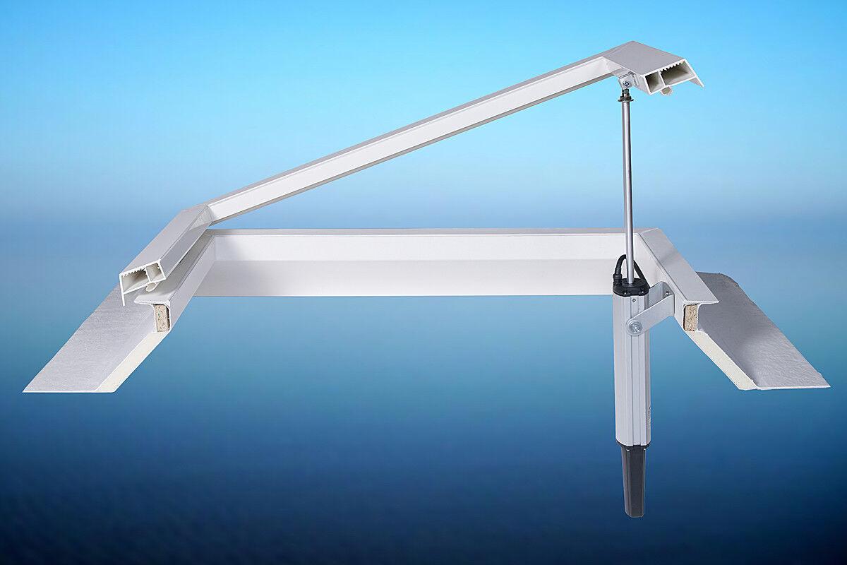 Elektromotor, Spindelantrieb, 230 V für Lichtkuppel, Dachfenster usw.