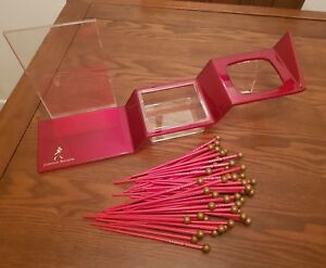Johnnie-Walker-Red-Label-Step-Display-Stand-plus-50-Johnnie-Walker-Stirrers-New
