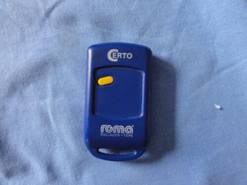 Weller Electronic Fernbedienung Handsender für Türen und Rolladen Mt87a1