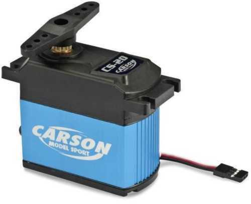 Carson C502034 SERVO CS-20 20KG JR CONNECTOR METAL GEARS