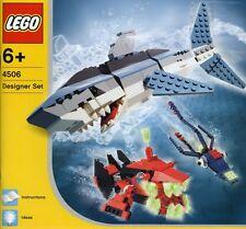 LEGO Designer 4506 Creations Deep Sea Predators NEUF-NEW-NEU