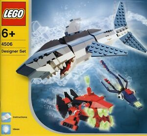 LEGO Designer 4506 Creations Deep Sea Predators NEUF-NEW-NEU