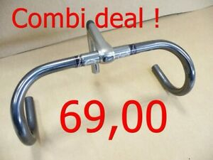 3ttt Merckx handlebar with 120mm status quill stem