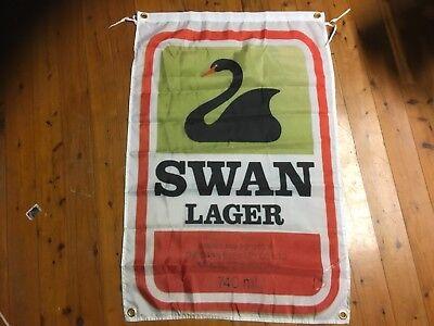 Swan Beer australiana Man Cave Work Shop Garage Shed Bar banner poster Flag